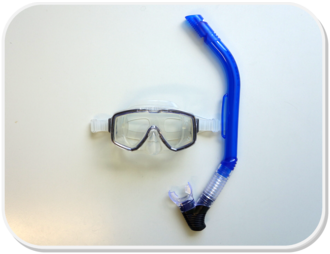 Pro Dive Economy Snorkelling Set