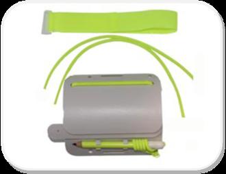 Multipage Wrist Slate