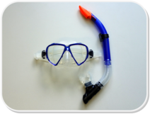 PD Adults Mask and Snorkel Set
