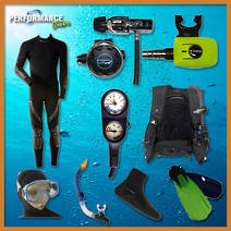 The Bronze Total Diver Package