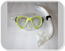 PD Youth Mask and Snorkel Set