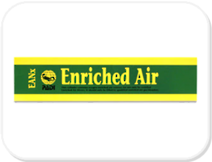 PADI Enriched Air / Nitrox Sticker