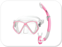 Mares Pirate Mask and Snorkel Set