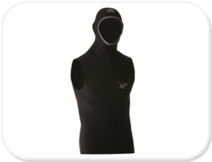 Pro Dive 5mm Hooded Vest