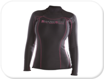 Sharkskin Chillproof Long Sleeved Top - Womens