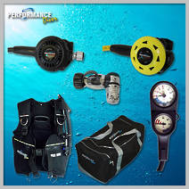 The Silver SCUBA Package