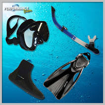 The Silver Personal Dive Kit