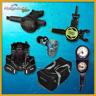 The Gold SCUBA Package
