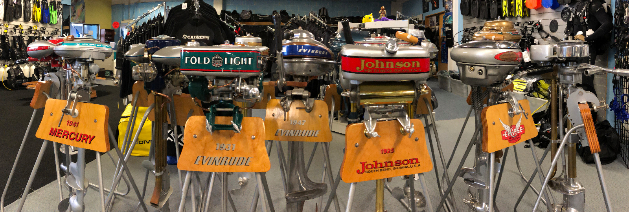Vintage Outboard Motors | Performance Diver NZ | Auckland