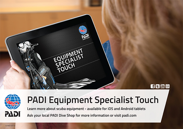 PADI Equipment specialist-483